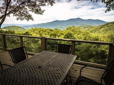 Photo for A View to Remember - Stunning Mountain Views, Pool Table, 10 minutes to downtown Blowing Rock!
