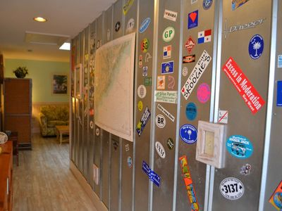We enjoy seeing where our guests are from!  Add your favorite hometown decal