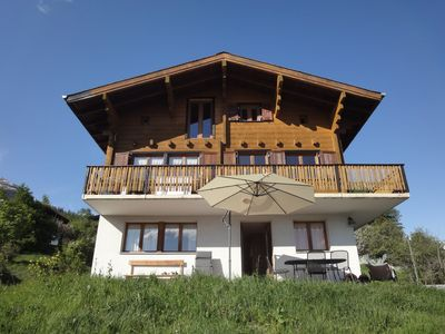 Photo for Apartment With Overwhelming Mountain Views In Ski Resort, Near Aletschglacier