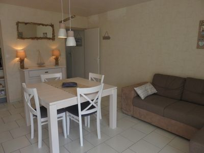 Photo for beautiful apartment at 60 m from the beach of les becs in Saint Hilaire de Riez Vendée,