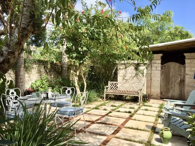 Main courtyard where you can relax before or after a wonderful day