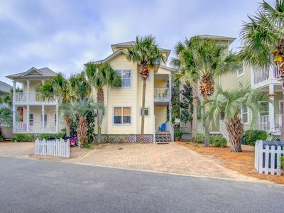 Photo for Eventide, 126 Emerald Dunes Cir, 400 ft to Beach, 3 BIKES, Across From Pool!