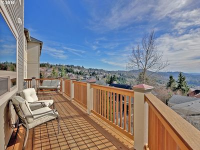 Photo for Luxury Family Home W/ Spectacular Forest & Valley View