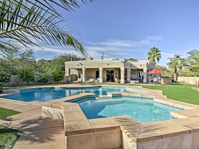 Photo for Spacious Lux Oro Valley Home w/Pool,Spa& Mtn Views