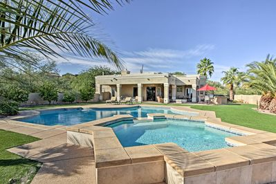 Escape to a luxurious resort-like vacation rental home in Oro Valley!