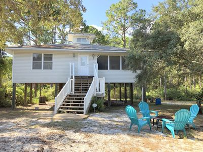 Photo for Cozy Beach Cottage Rental on the Forgotten Coast. Now includes WiFi