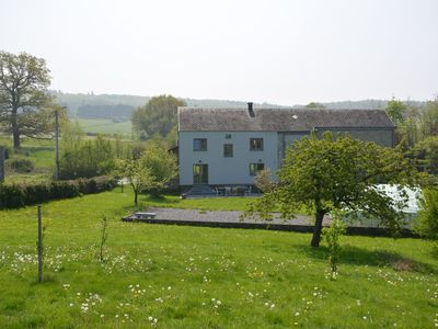 Photo for Village house with large garden, very quiet, very beautiful typical region