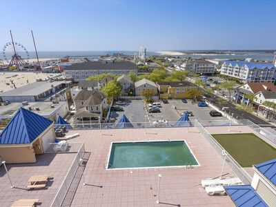 Photo for Upscale Boardwalk Condo (Side) - Gorgeous Views of Ocean, Bay & Inlet!