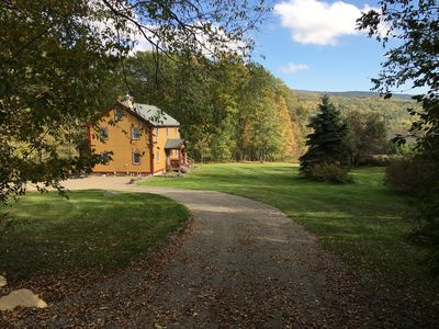 Photo for Beautiful 3 BR Berkshire Home - Mountain Views & Privacy on 10 Acres