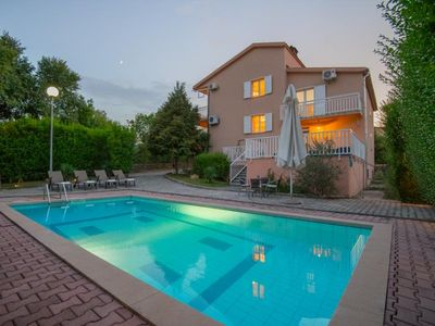 Photo for ctim237 - House with pool, 9 people(7 adults+2 children), in front of the villa is field for football, badminton