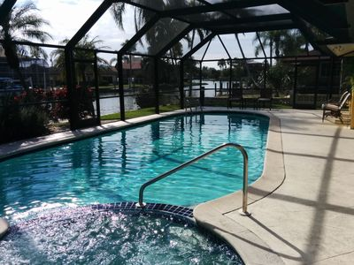 Photo for Waterfront Executive Pool Home in Vanderbilt Beach, Naples