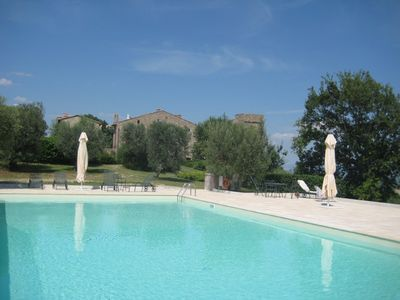 Photo for 2 bedroom apartment in Umbrian castle in countryside between Perugia and Todi
