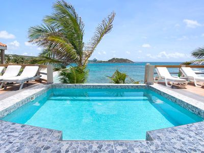 BELL'MARE... Endless visions of blue await you at this affordable oceanfront villa