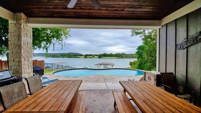 Photo for Christopher II - V-Drive Boat Lift, Heated Pool, Water Trampoline, Kayak, SUP