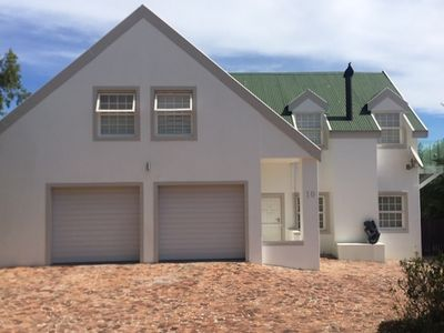 Photo for House in Security Estate overlooking Table Mountain, Helderberg and False Bay