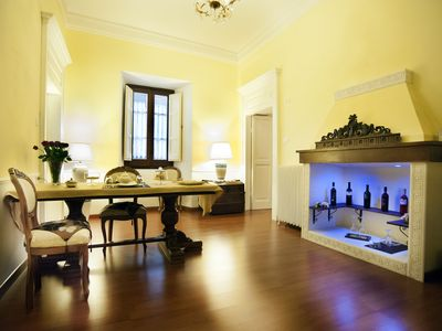 Photo for Luxury 70 m Suite with private kitchen in the center of Sulmona