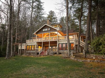 Photo for Amazing Family Vacation Home directly on Famous Lake Toxaway!!