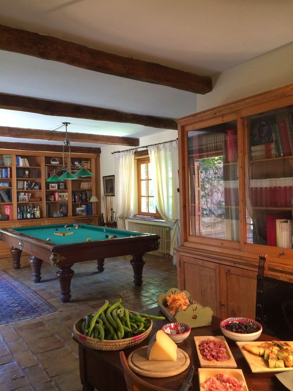Enjoy The Italian Food And The (regular Size) Pool Table In The Living Room