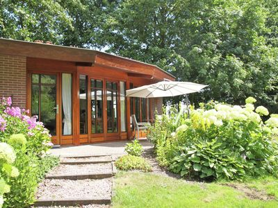 Photo for Holiday home with lovely garden, in rural location