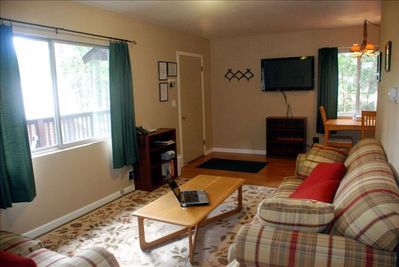 Our living room is just perfect for a couple or small family