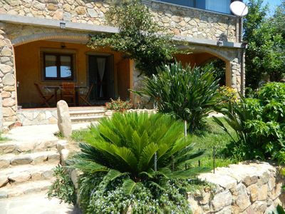 Photo for Apartment with garden about 600 m from the sea