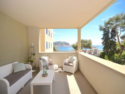 Photo for Apartment on the 1st line of the sea in Sant Feliu de Guíxols, completely renovated in 2018,