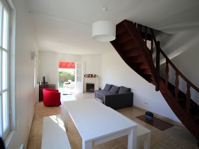 Photo for Large villa pool Arcachon, spacious and bright 10 people