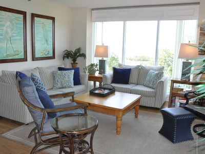 Photo for Coastal Decor Ocean Views Southern Exposure Unit 3526 Quiet End unit, Privacy