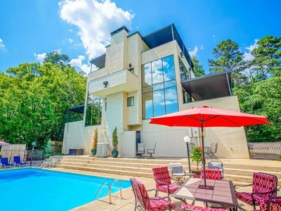Photo for Hot Springs High House with Breath Taking Views & Private Pool