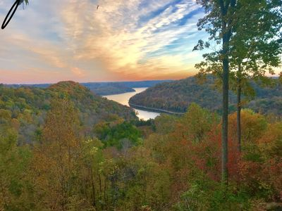 Fall sunrise  from the deck!
