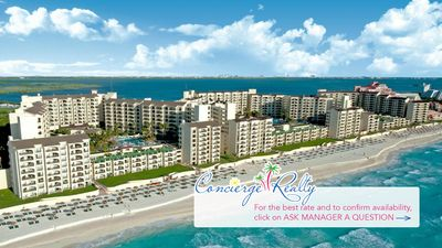 Photo for Spacious 1 bedroom at Royal islander- an oceanfront resort!