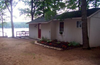 Photo for Windjammer Resort Cabin #4 Traverse City Waterfront Spider Lake