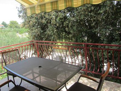 Photo for One bedroom apartment with terrace Pakoštane, Biograd (A-18373-a)