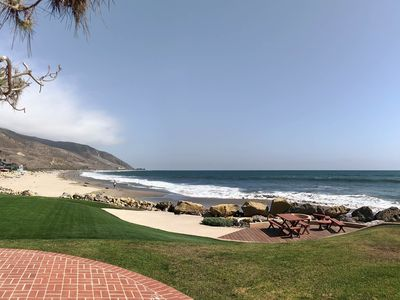Photo for Oceanfront Sandy Point at Solimar Beach right in front of Sand and Surf