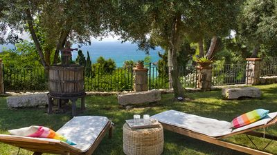 Photo for Villa Michela between sky and sea. On the coast between Gaeta and Sperlonga on the sea