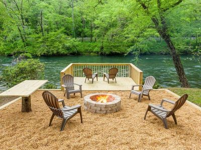 Photo for Toccoa River Getaway - 15 Minutes from Downtown Blue Ridge