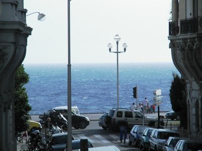 Photo for Large Spacious Apartment - spectacular sea view, directly behind Negresco Hotel