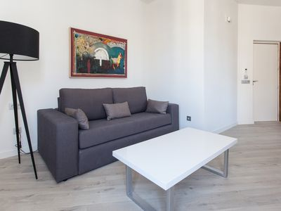 Photo for Conde de Ibarra 1-1 apartment in Casco Antiguo with WiFi, integrated air conditioning (hot / cold),…