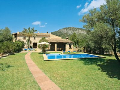 Photo for 3 bedroom Villa, sleeps 6 in Pollença with Pool, Air Con and WiFi