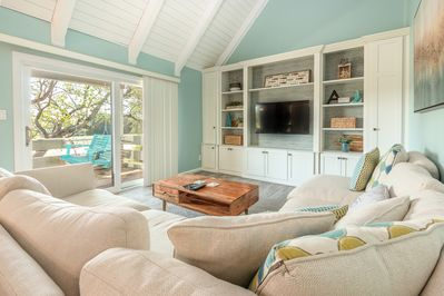 Vaulted Ceilings gives you an open and comfortable feeling.