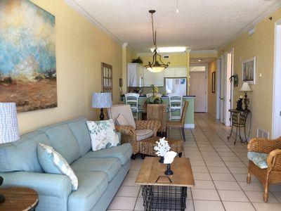 Photo for #503 - Beautiful Gulf Front 5th floor/2BD 2BA/Large Balcony/Keyless Entry