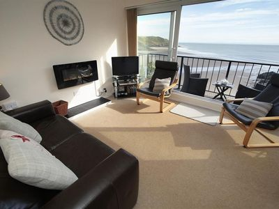 Photo for With awesome views, Redcliffe apartments are in a great spot overlooking Caswell Bay with private ac