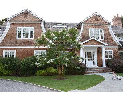 Photo for New Construction Southampton 6 BR, 6.5 Bath, 5 Fireplace Masterpiece.