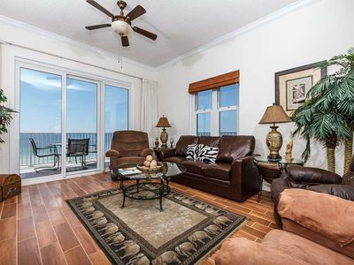 Photo for 4th Floor Picturesque Gulf-Front Condo In Perdido Key! Pool