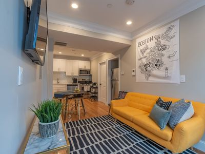 Photo for Stylish 5 Bed Apt in Boston's North End by Domio