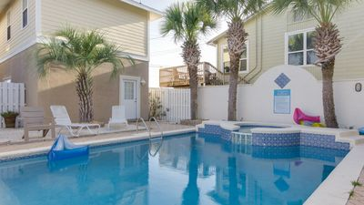 Photo for Beach or Pool? You Decide in This 3 Story Home Right Across From the Beach!