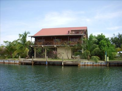 Photo for Maya Lodge - Large Waterfront House with Boat Dock