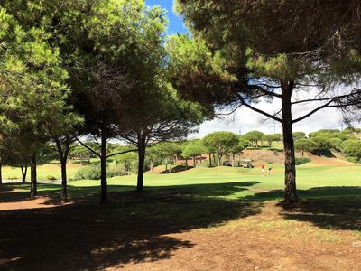 Photo for CHARMING SUNNY CONDO BACKING TO GOLF COURSE AND WALK TO FAMOUS CABOPINO BEACH