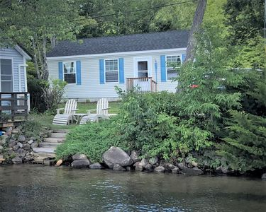 Photo for Webster Lake Cottage with 30' Dock-Bring Your Boat!