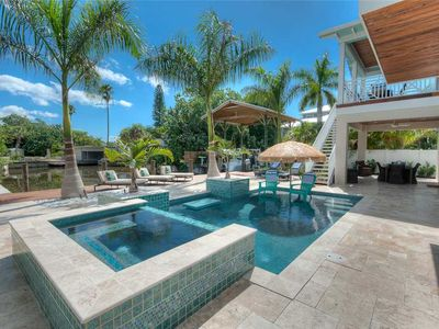 Photo for Reduced Rates 25% OFF! Canal Front Pool Home with dock!